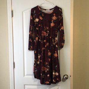 Reborn J Floral Dress